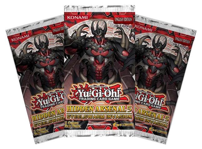 Yu-Gi-Oh Hidden Arsenal 5: Steelswarm Invasion