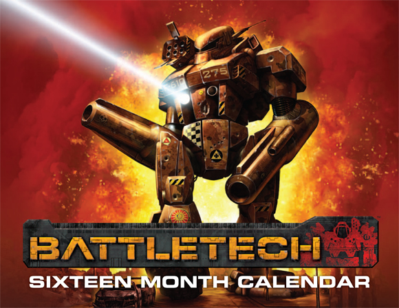 BattleTech 2012-2013 Calendar