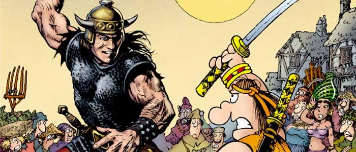Quando os Bárbaros de Encontram: Conan vs. Groo