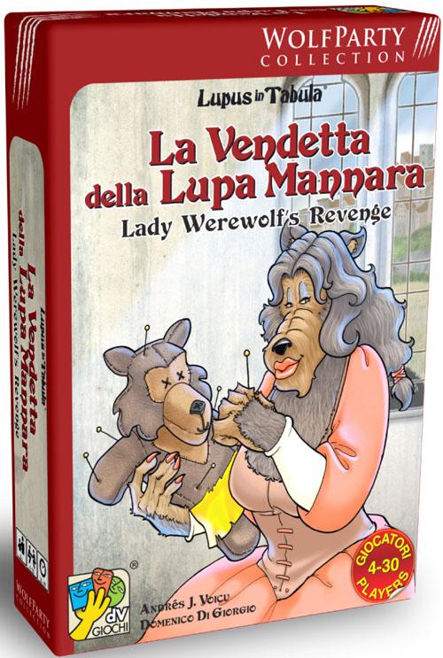 Lady Werewolf - Nova Expansão Para Lupus In Tabula
