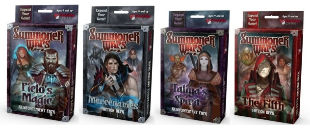 Summoner Wars Packs