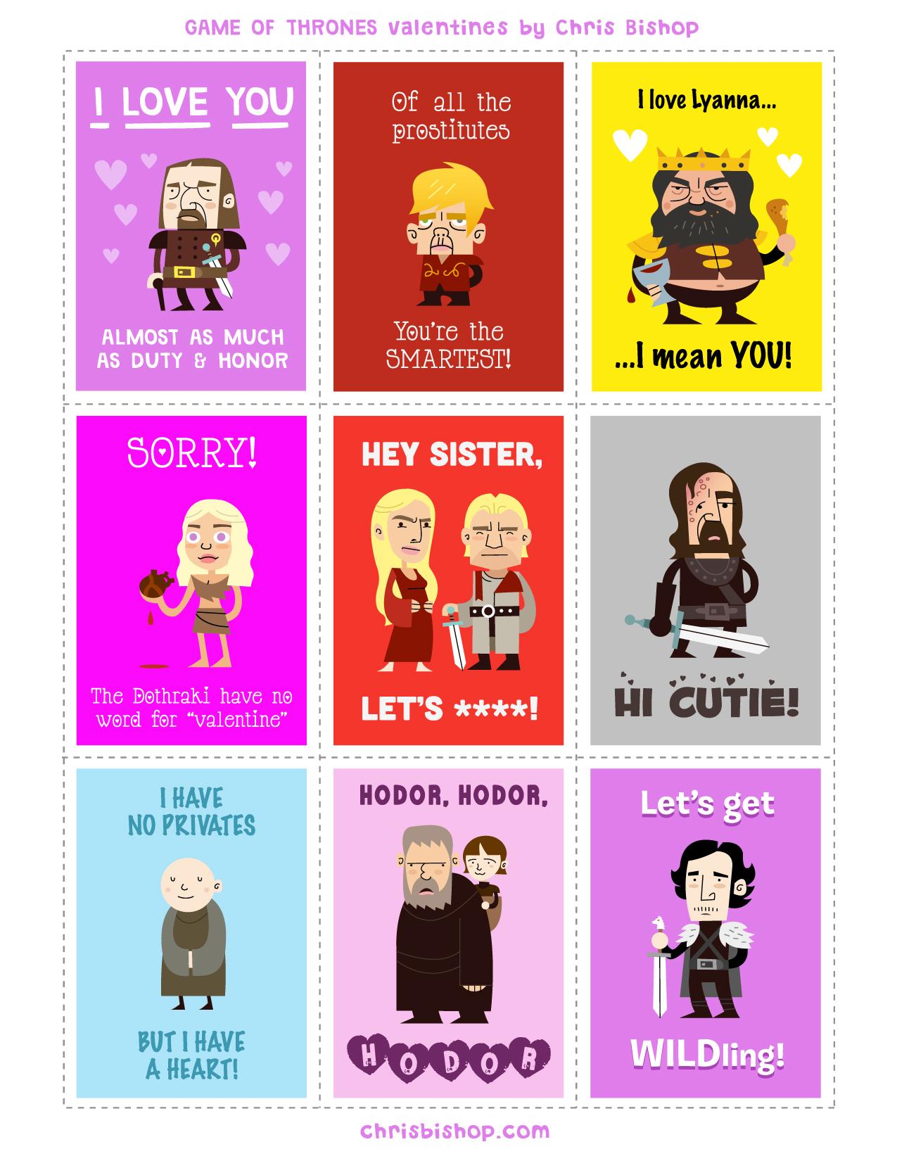 Game of Thrones - Dia dos Namorados