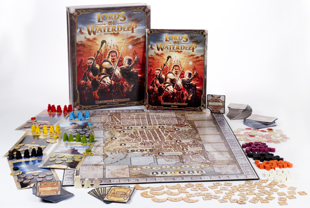 Lords of Waterdeep Componentes