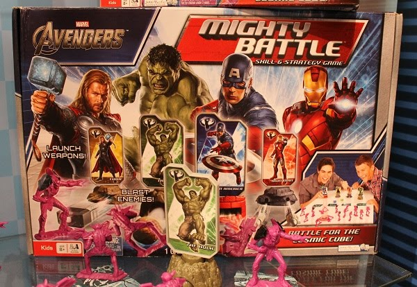 Avengers Mighty Battle Board Game