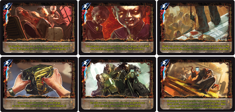 Texas Zombies cartas