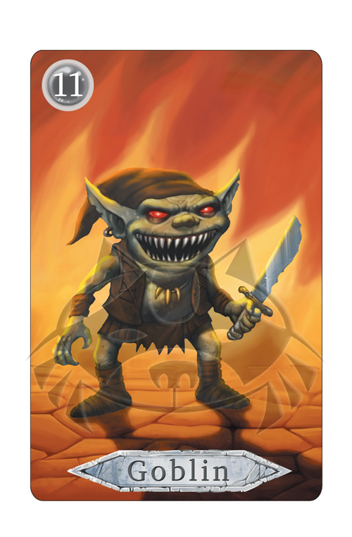 Dungeon Monsters: The Card Game - Goblin