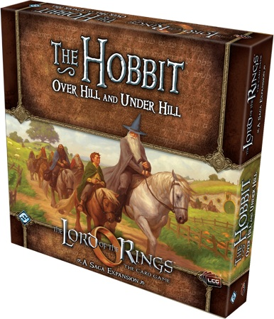 The Hobbit  Over Hill And Under Hill box