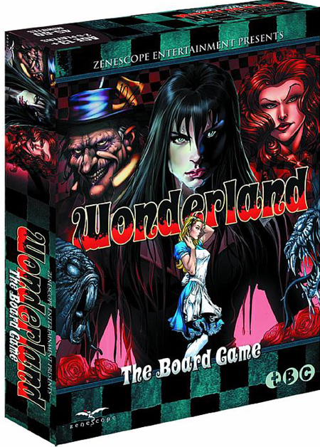 wonderland board game