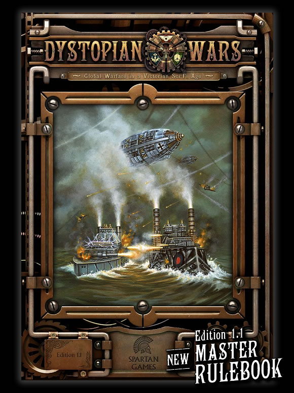 Dystopian Wars - Edition 1.1 Master Rulebook