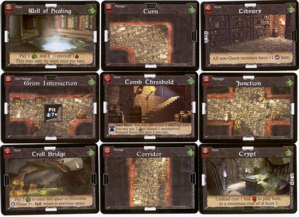 dungeoneer mapa