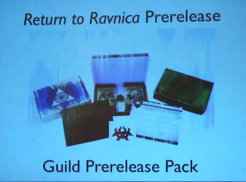 Guild prerelease pack