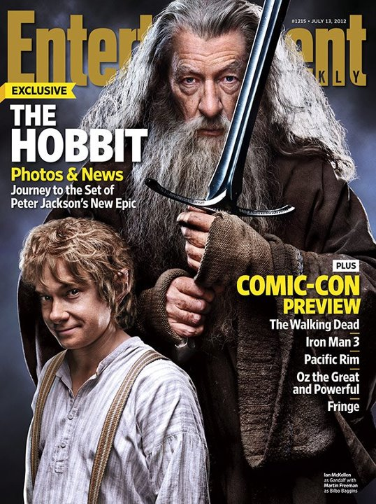 O Hobbit Capa Revista