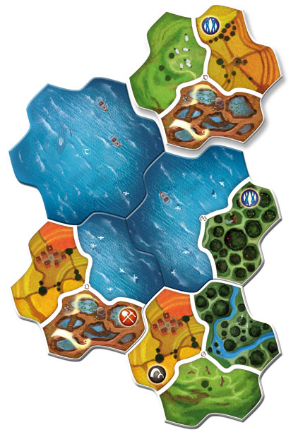 Small World Realms Expansion Tiles