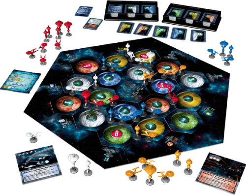 Star Trek Catan Componentes