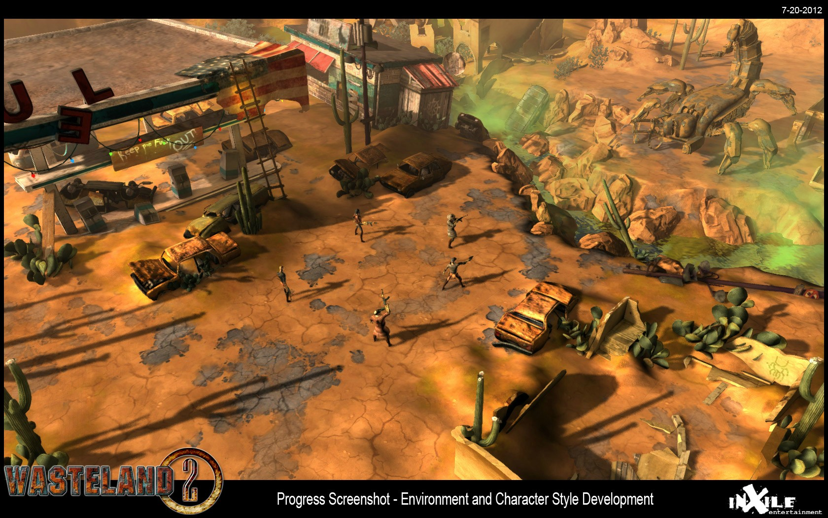 wasteland2 - primeira imagem
