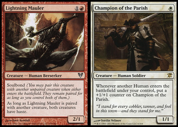 Champion of Parish - Lighting Mauler