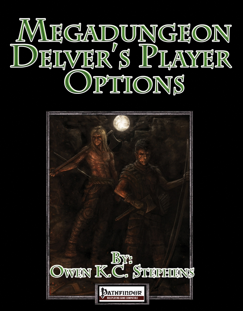 Megadungeon Delver's Player Options