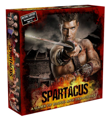 Spartacus: A Game of Blood e and Treachery - Box