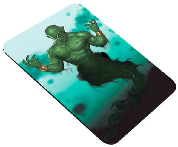 Mouse Pad Dungeon Monsters