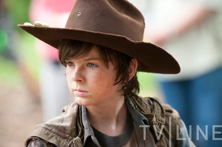 Carl - Walking Dead