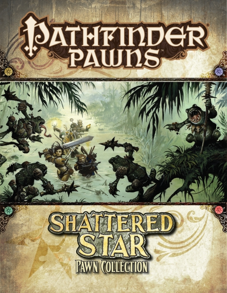 Shattered Star Adventure Path Pawn Collection