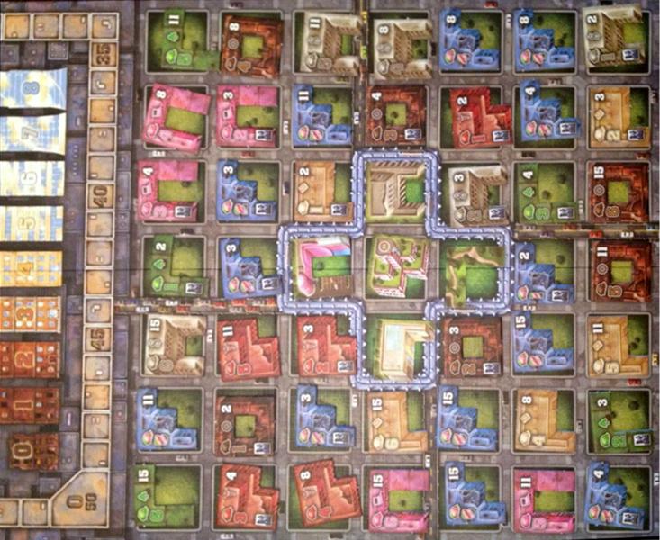 Urbania Tabuleiro