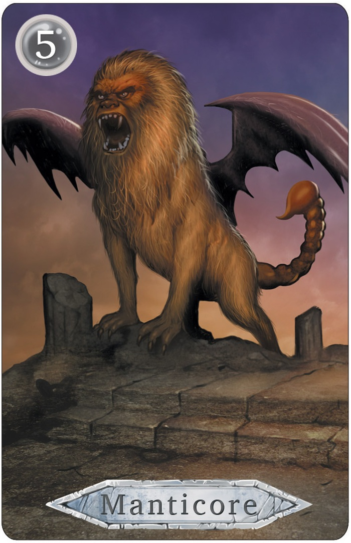 Dungeon Monster: Manticore