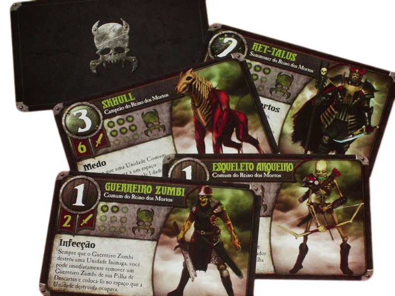 Facção Reino dos Mortos - Summoner Wars