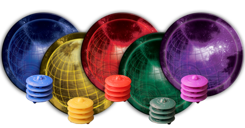 Cosmic Encounter naves e planetas