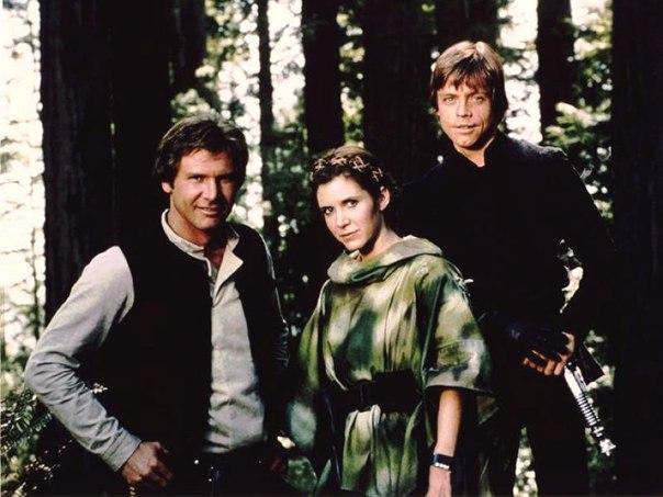 Han Solo, Luke e a Princesa Leia Topam Participar de Novo Star Wars