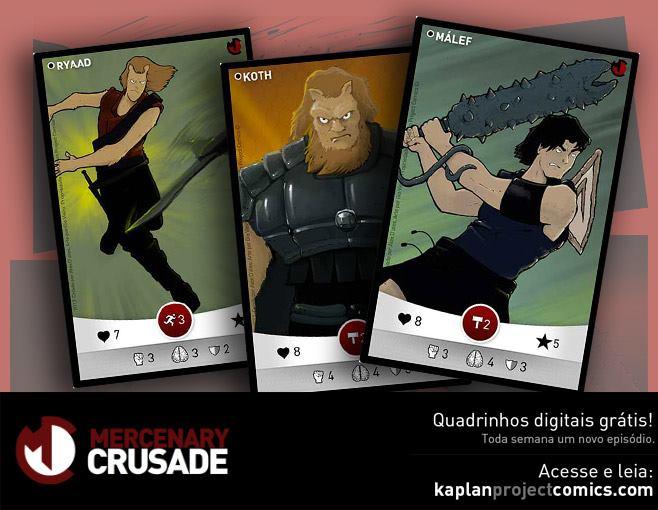 Card Game Mercenary Crusade - 2ª Edição