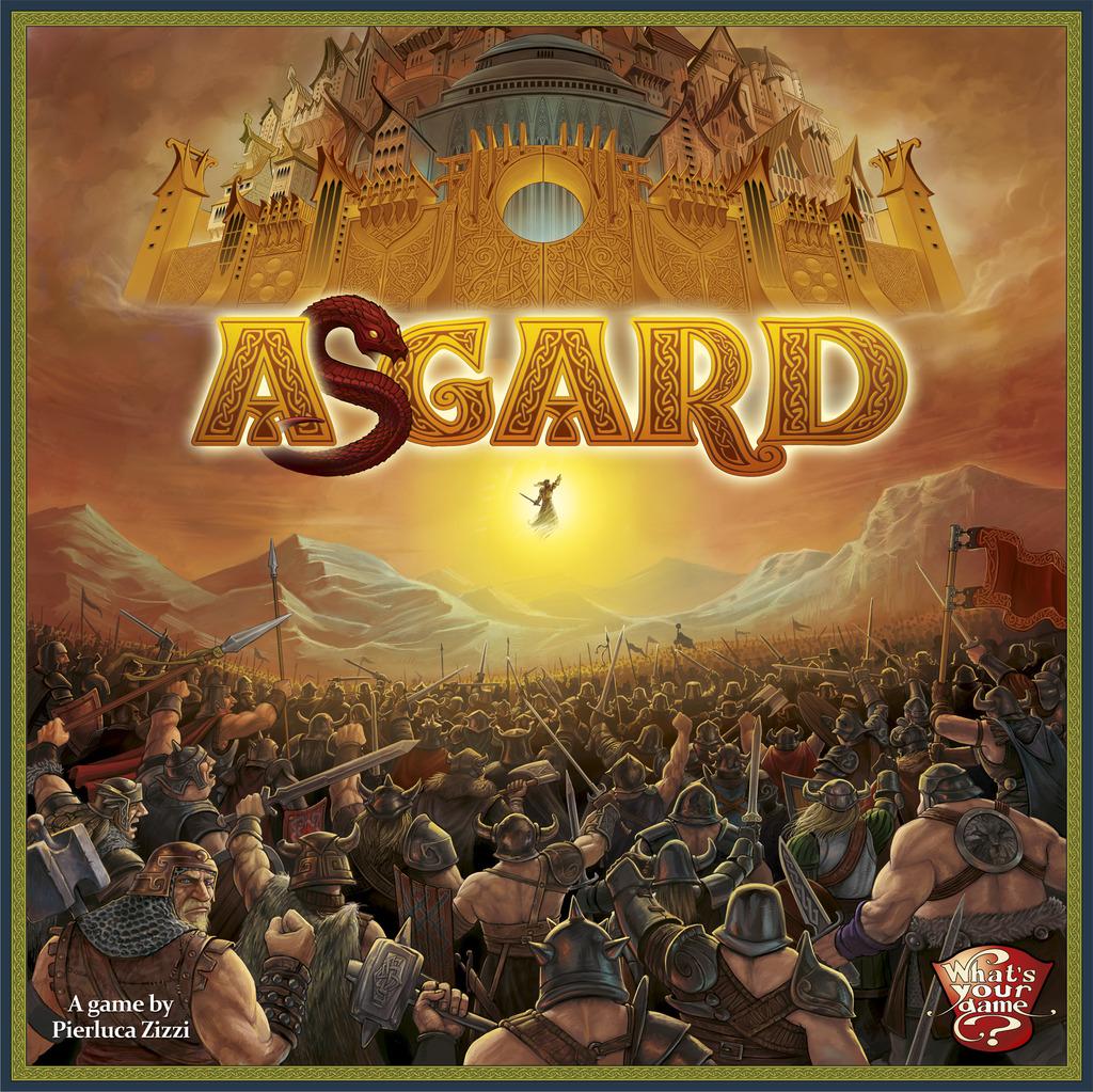 Jogo de Tabuleiro Asgard
