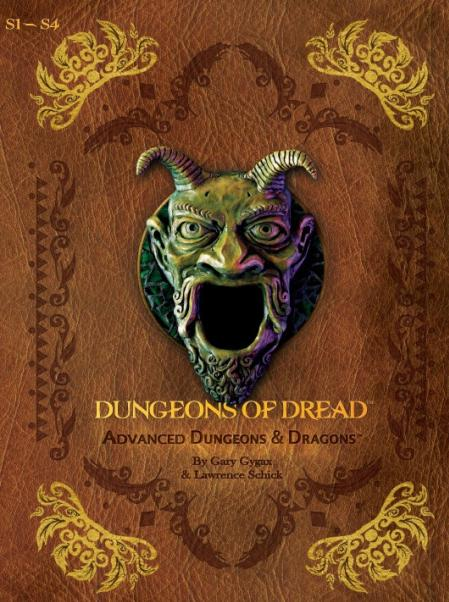AD&D 1st Edition Premium Dungeons of Dread