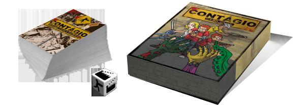 Contágio - Cardgame Brasileiro de Zumbis