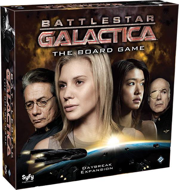 Daybreak - Nova Expansão para Battlestar Galactica: The Board Game