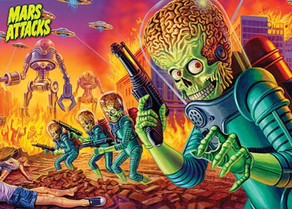 Mars Attacks War-Game