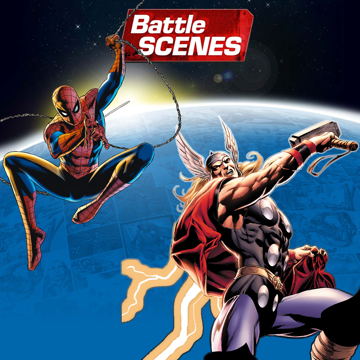 Battle Scenes - Universo Marvel Super Pack