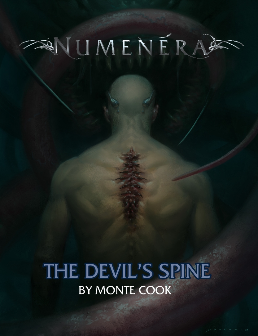Livro Aventura de Numenera: The Devil's Spine