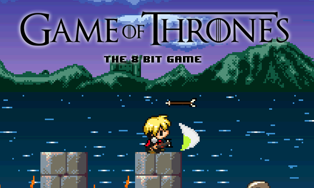 Game of Thrones 8 bit game