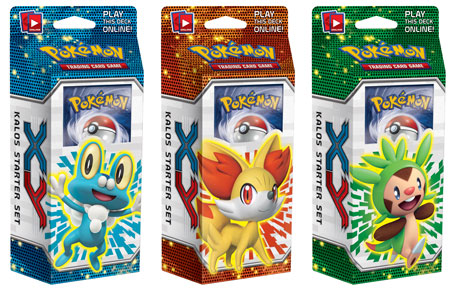 Novos Decks de Pokémon XY