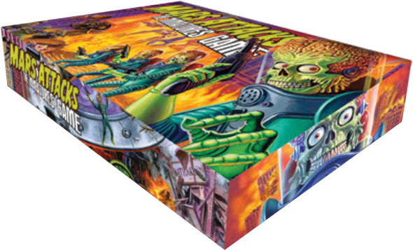 Mars Atack  Board Game Box