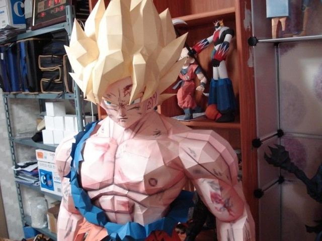 Paper Goku 01