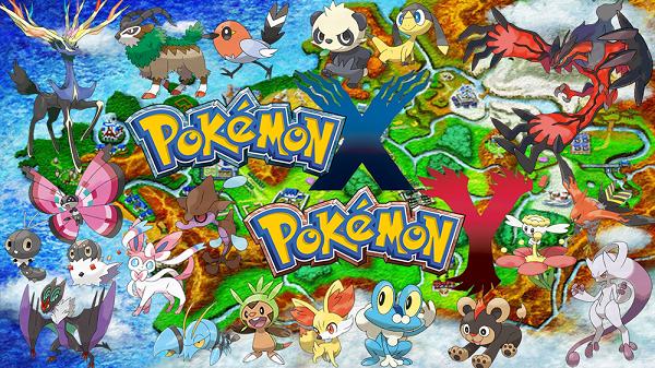 Os novos Pokémons da Geração X & Y