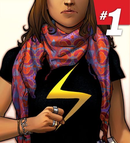 Capitã Marvel Muçulmana capa