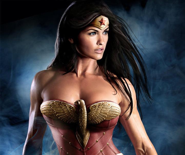 Mulher Maravilha em Filme de Liga da Justiça