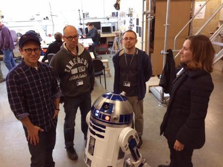R2-D2 Presente em Star Wars VII