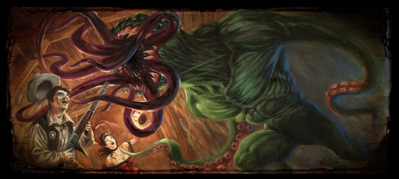 Board Game 'Shadows of Brimstone'