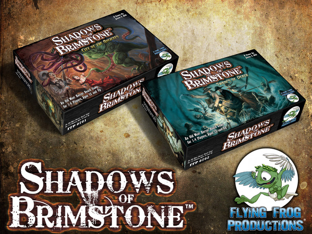 Board Game 'Shadows of Brimstone'