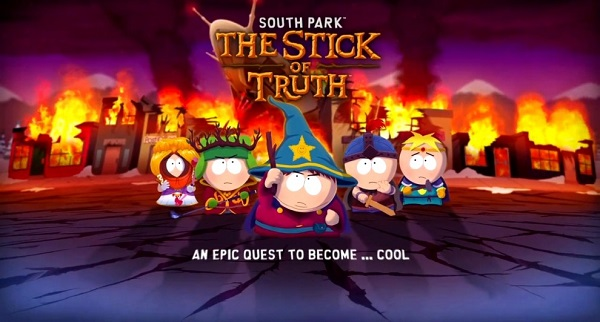 South Park: The Stick of Truth Adiado Para 2014