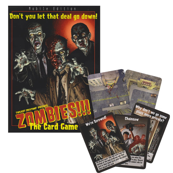 Zombies: The Card Game!!!